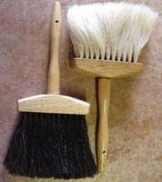 Horse Hair Hat Crown Brush