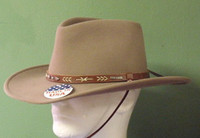 Stetson Santa Fe Crushable Wool Western Hat