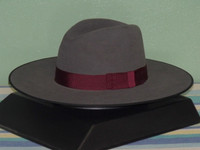 Stetson Tri-City Wide Brim Fur Fedora Hat