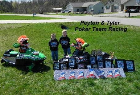 WAY TO GO!!! Peyton & Tyler Poker