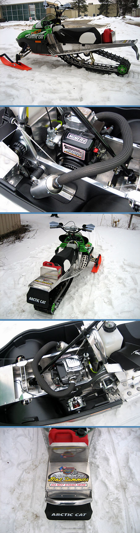 CUSTOM BUILT MOUNTAIN SLED
