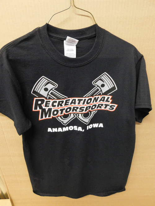 Black Cross Pistons T-Shirt