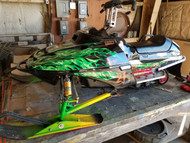 CHAMP POLARIS 120 SNOWMOBILE (Price Reduced)