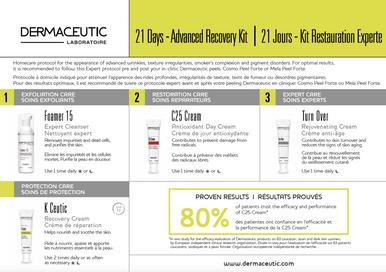 21 Days Advanced Recovery  Kit 21天高效修復再生套裝