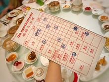 『懷舊點心紙手拿包』(尺寸 42cm x 22cm)(大)-售價每個HK$280,另加運費。