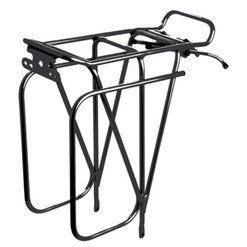 Tortec Expedition Rear Pannier Rack Black