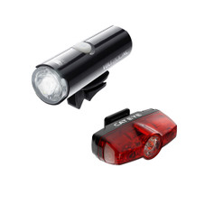 Cat Eye Volt 200 XC Front Light with Rapid Mini Rear set