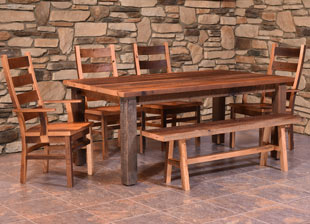 Barnwood Almanzo Dining Collection