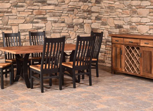 Barnwood Golden Gate Dining Collection