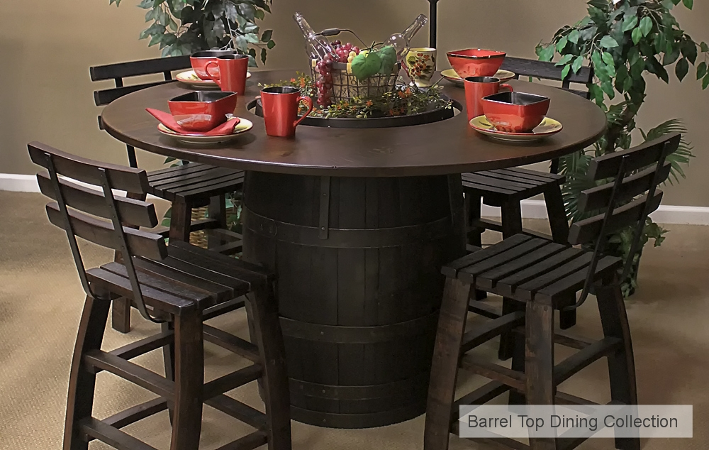 Barrel Top Dining Collection