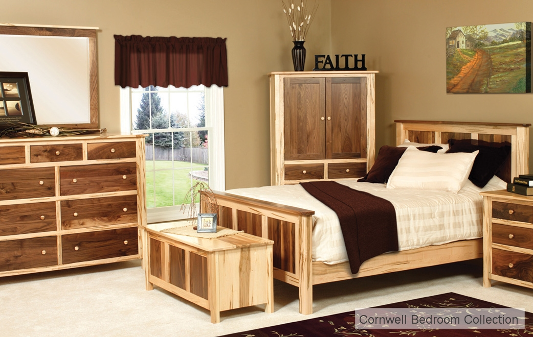 Amish Handcrafted Cornwell Bedroom Collection