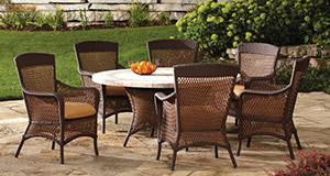 Grand Traverse Outdoor Wicker Furniture Collection