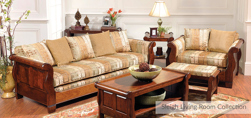 Sleigh Living Room Collection