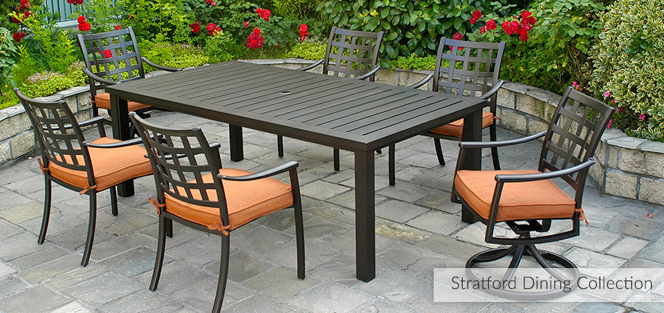 Browse Outdoor Furniture Browse Outdoor Categories Cast Aluminum Furniture Stratford
