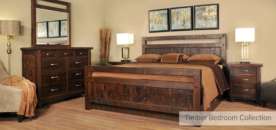 tTimber Bedroom Collection