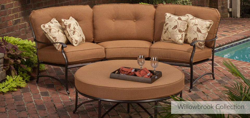 Willowbrook Cast Aluminum Collection by Agio