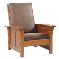 Amish Handcrafted 1600 Shaker Morris Chair