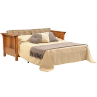 Amish Handcrafted 1800 Mission Sleeper Sofa
