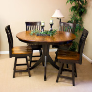 Amish Handcrafted Christy Counter Dining Table
