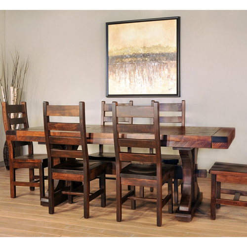 Southern State Rustic Furniture Accessories: Rustic Carlisle Dining Table