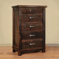 Amish Handcrafted Timber Chest of Drawers