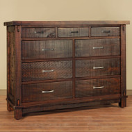 Amish Handcrafted Timber Dresser | Southern Outdoor Living