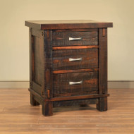 Amish Handcrafted Timber Nightstand
