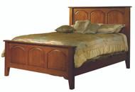 Amish Handcrafted Carlisle Shaker Bed