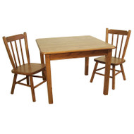 Amish Handcrafted 79 Table with 75 Chairs