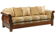 Hardwood Sleigh Sofa | Southern Outdoor Living in Kentucky