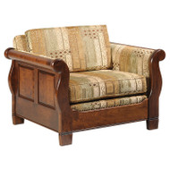 Hardwood Sleigh Chair | Southern Outdoor Living in Kentucky