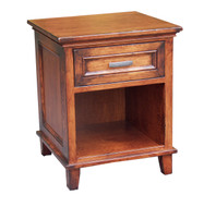 Amish Handcrafted #625 Brooklyn 1 Drawer Nightstand