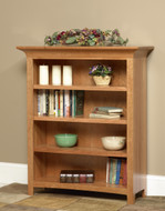 Amish Handcrafted Millstone Bookcase