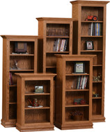 Amish Handcrafted Ashery Traditional Bookcase