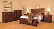 Amish Handcrafted Rustic Carlisle Bedroom