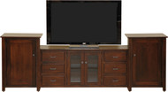 Amish Handcrafted 7200 Style Entertainment Center