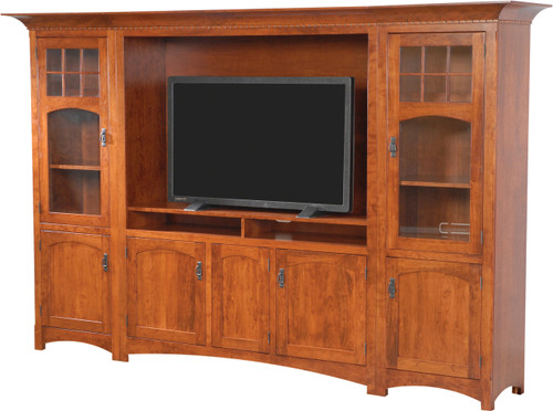 Hamilton style entertainment center southern outdoor for Home style furniture hamilton