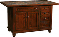 "IS-664 2 Doors, 5 Drawers, 1 Adjustable shelf Width 48.25"" Depth 24.5"" Height 34.5"""