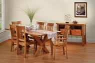 Amish Handcrafted Cape Anne Dining Collection | Outdoor Furniture