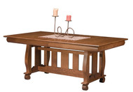 Amish Handcrafted Hampton Dining Table