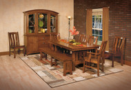 Amish Handcrafted Olde Century Dining Table