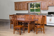 Amish Handcrafted Boulder Creek  Dining Collection