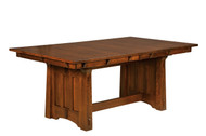 The Beaumont table is shown in solid quartersawn white oak.