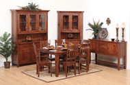 Amish Handcrafted Frontier Dining Collection