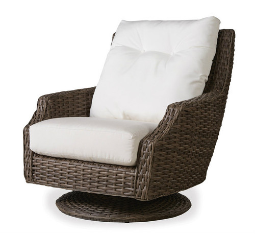 Lloyd Flanders High Back Swivel Rocker Outdoor Furniture