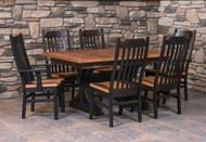 Amish Handcrafted Barnwood Croft Dining Collection