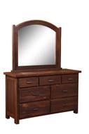Barnwood Quincy 7 Drawer Dresser