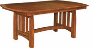 Amish Handcrafted Boulder Creek Dining Table