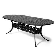 "Hanamint Newport 42""x84"" Oval Table"