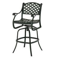 hanamint newport swivel bar stool